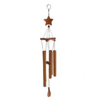 Bambu Yıldız 8 Tüp Rüzgar Çanı