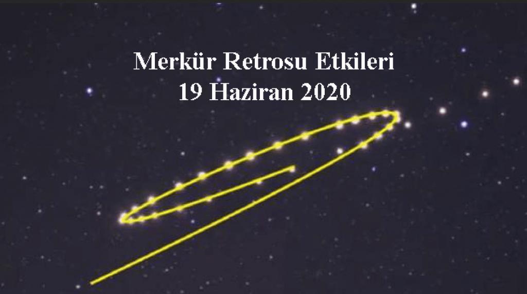 Merkür Retrosu 19 Haziran 2020