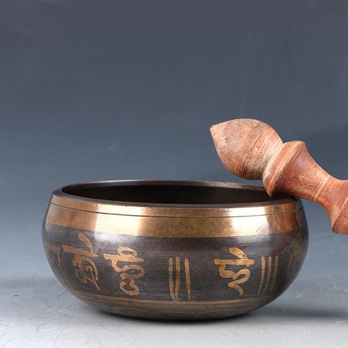 Çin Pirinç El Oyması Müzik Kasesi