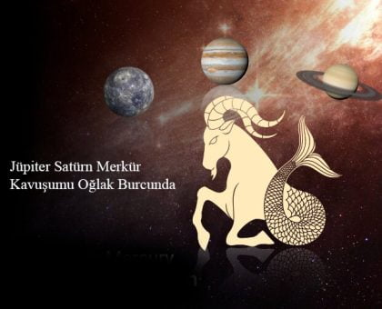 Jüpiter Satürn Merkür Kavuşumu