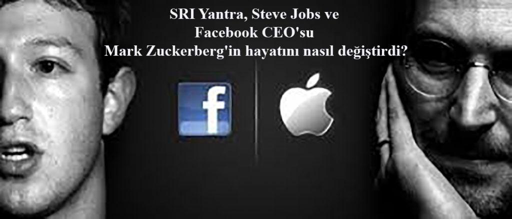 SRI Yantra, Steve Jobs ve Facebook CEO'su Mark Zuckerberg